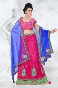 Picture of Fuschia Lehenga L002