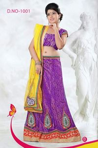 Picture of Paars Lehenga L003