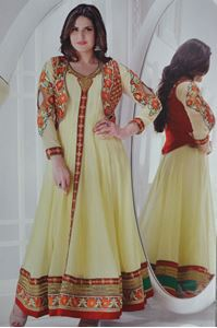 Picture of Crèmewitte Heavy Anarkali A034