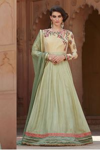Picture of Pista Groen Anarkali A045
