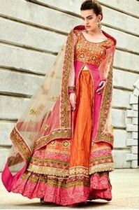 Picture of Oranjerood Anarkali A042