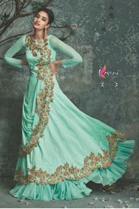Picture of Aquamarijn Azure Dual Anarkali A058