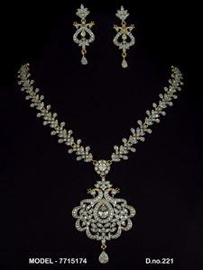Picture of CZ - Zirconia Necklaces - JS018
