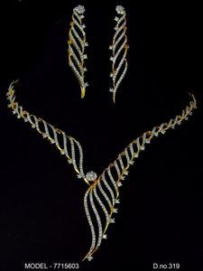 Picture of CZ - Zirconia Necklaces - JS020