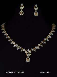 Picture of CZ - Zirconia Necklaces - JS022