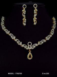 Picture of CZ - Zirconia Necklaces - JS023