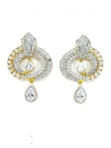 Afbeelding van CZ - Cubic Zirconia Earrings- JE084
