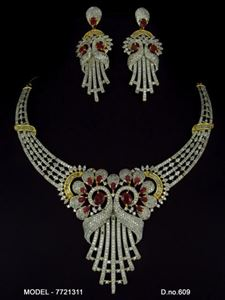 Picture of CZ - Zirconia Necklaces - JS061