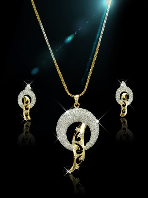 Elegante indiase kleding kwaliteit sieraden simplymooi cz cz pendants js072 aloadofball Image collections