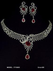 Picture of CZ - Zirconia Necklaces - JS081