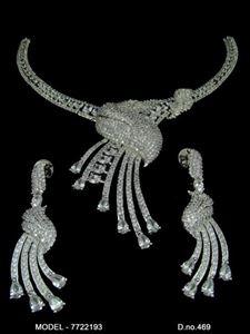 Picture of CZ - Zirconia Necklaces - JS082