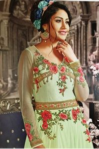 Picture of Pale Green Anarkali / Gown A091