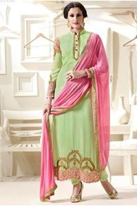 Picture of Pale Green Salwar Kameez SS064