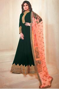 Picture of Green Anarkali A127