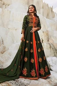 Picture of Blush & Basil Anarkali A139