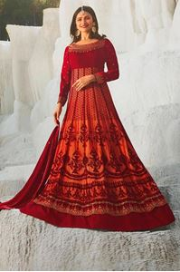 Picture of Cherry & Blush Anarkali A140