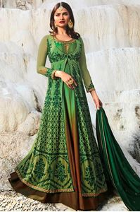 Picture of Moss & Olive Anarkali A141