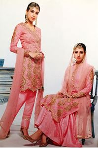 Picture of Pink Salwar Kameez SS071