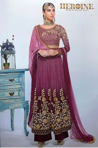 Picture of Shaded Plum  Dress A156