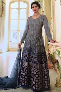 Picture of Regent Grey premium Anarkali A168