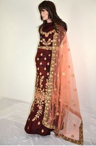 Picture of Mullberry Silk Lehenga L022