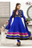 Picture of Blauwe Anarkali A010