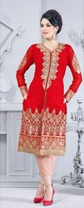 Picture of Rode Dual Lehenga/Churidar SS013