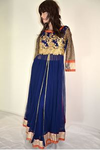 Picture of Navy Blue Anarkali A172