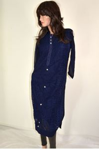 Picture of Dark Blue Kurti K052