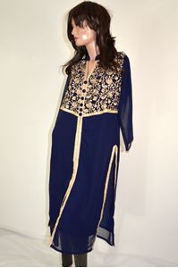Picture of Dark Blue Kurti K053